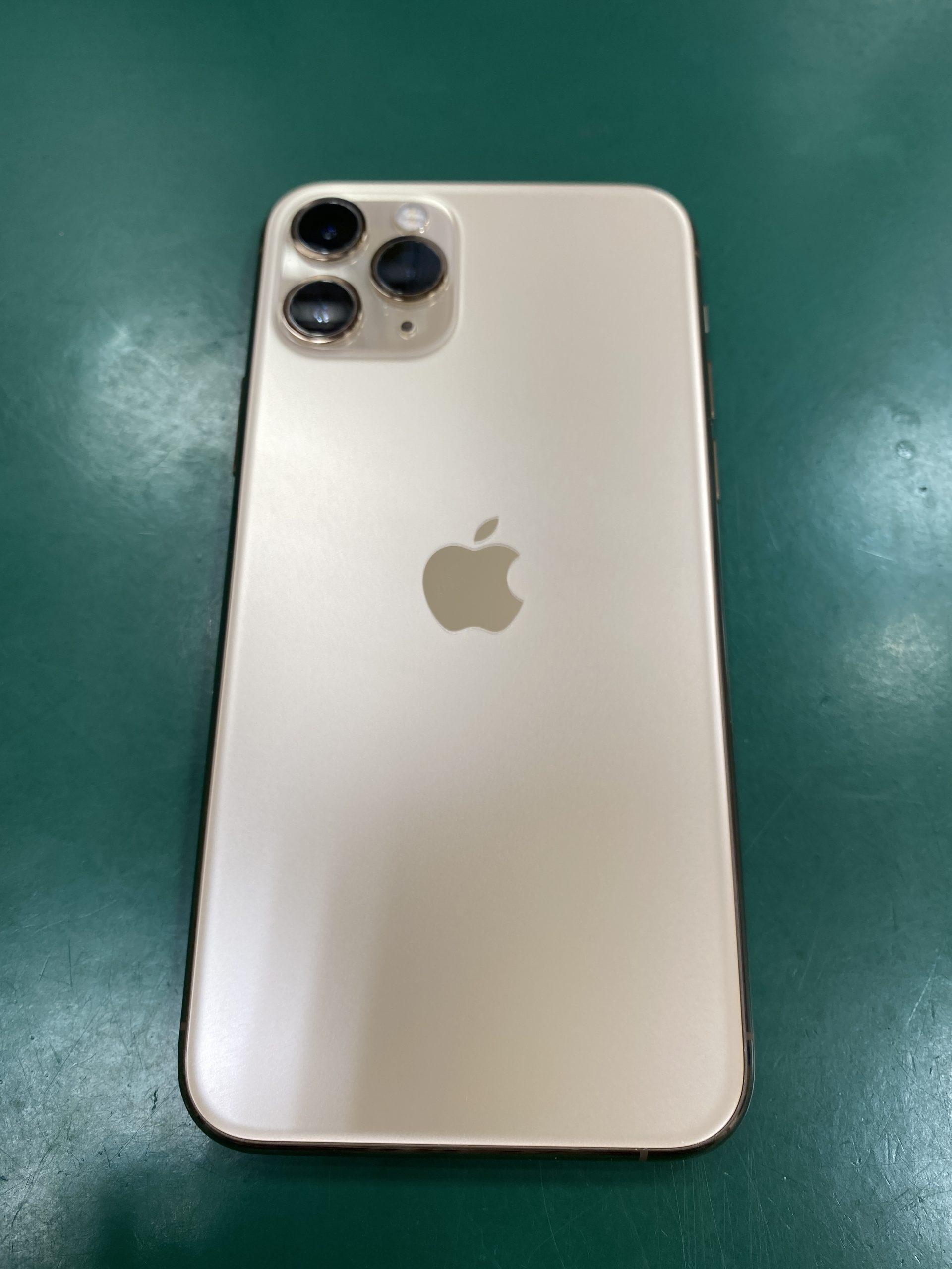 iPhone11Pro256GBゴールドau―中古