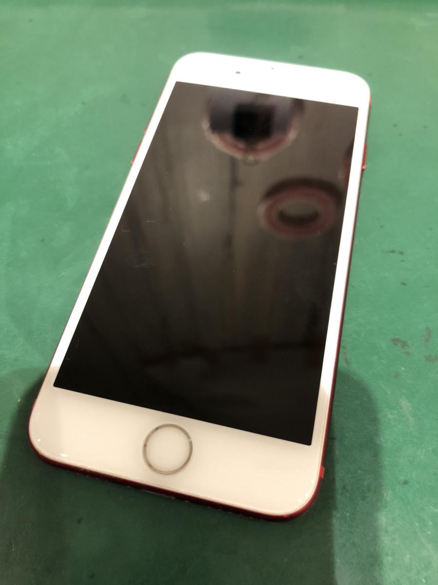 iPhone7 256GB レッド au ○ 中古