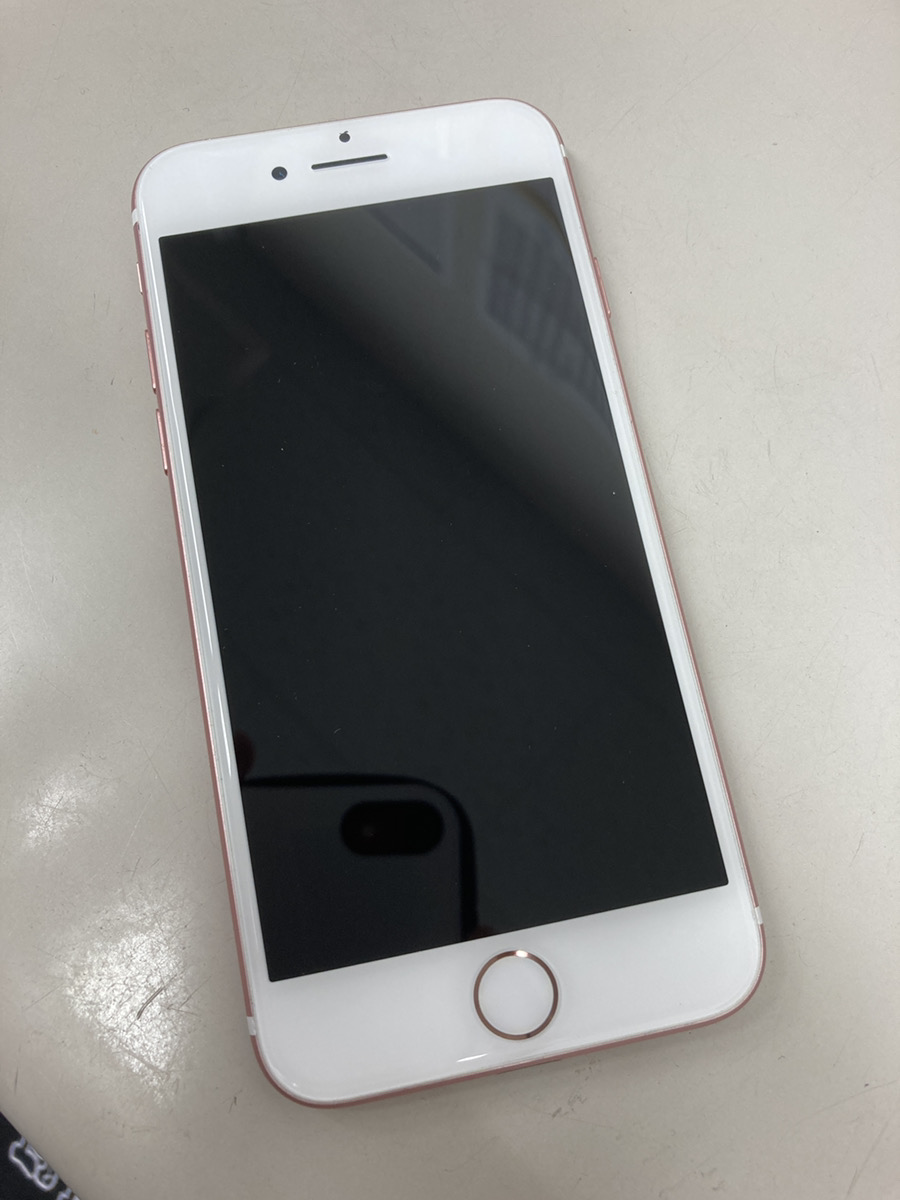 iPhone7 32GB 中古本体のみ ローズゴールド ドコモ○判定