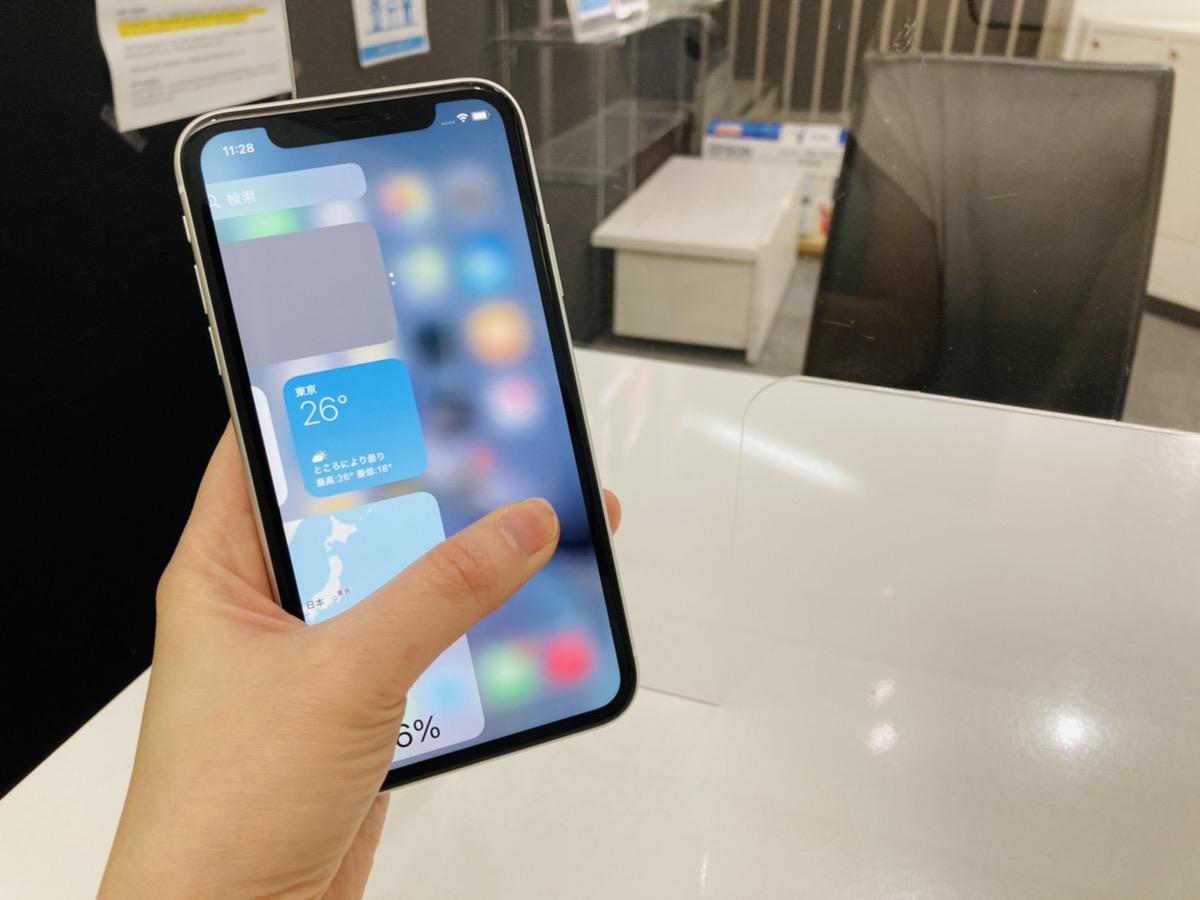 iPhoneXR 64GB simフリー 中古本体のみ