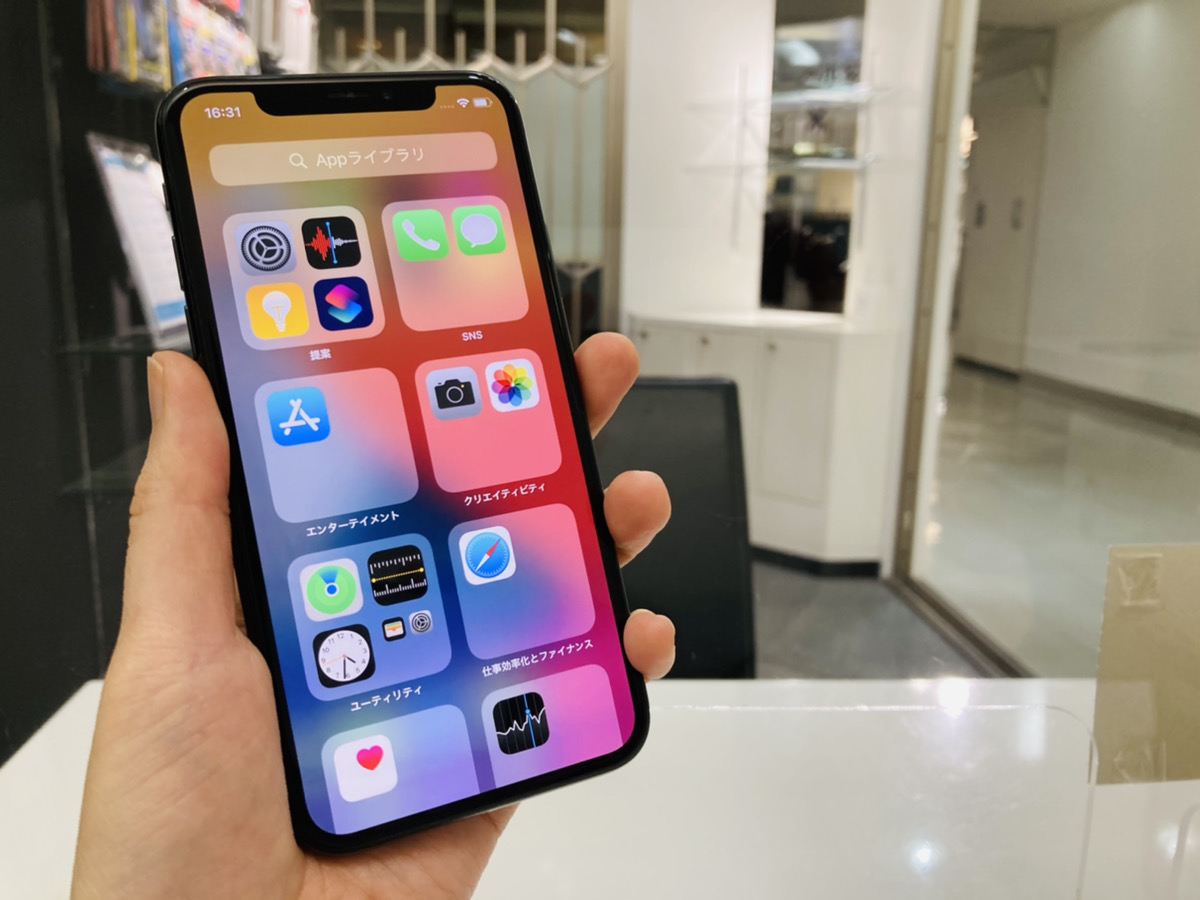 iPhoneX 64GB SoftBank△ 中古本体のみ