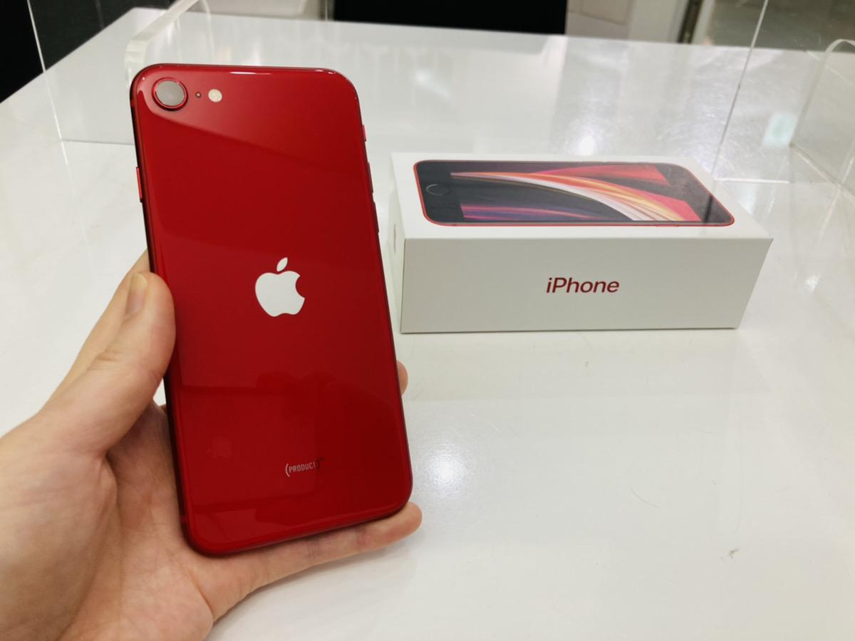 iPhoneSE2 128GB simフリー 中古箱あり