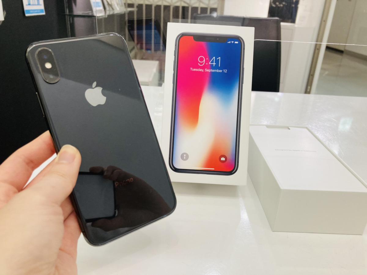 iPhoneX 64GB SoftBank◯ 中古箱のみあり