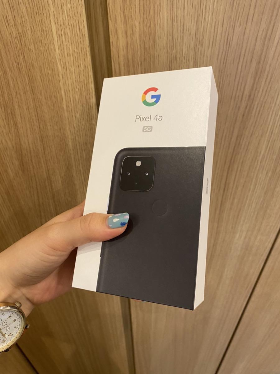 Pixel 4a(5G) ブラック Softbank〇 中古