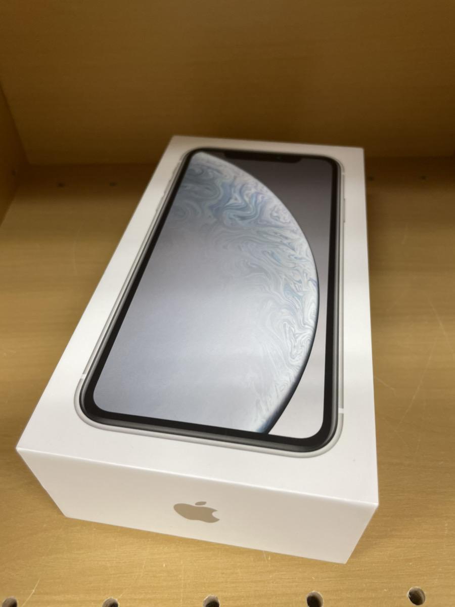 iPhoneXR256GBシルバーDocomo 中古品