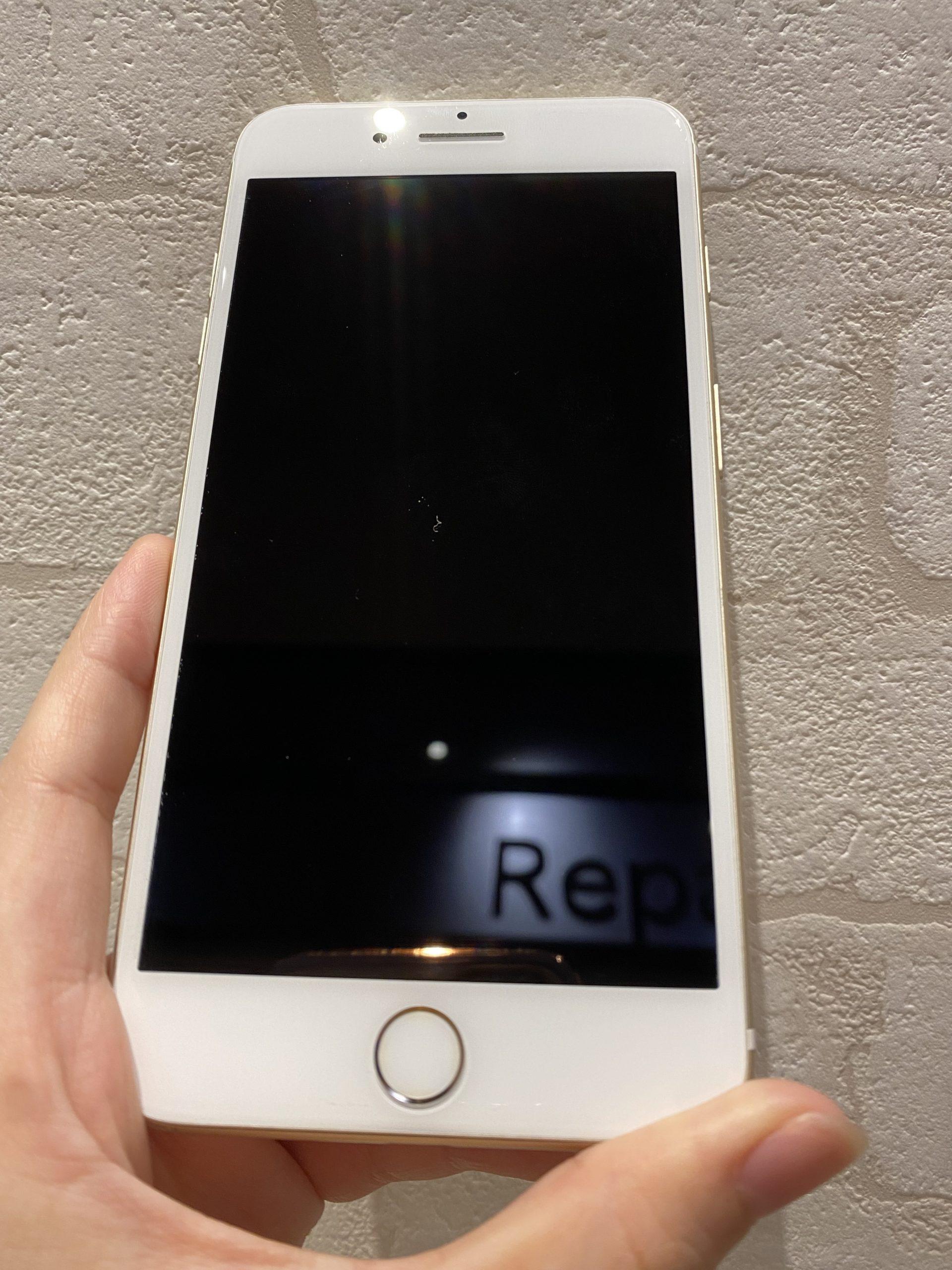 iPhone7plus au〇 128GB ゴールド 中古