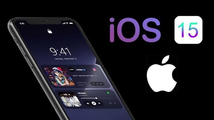 iOS15 IPhone