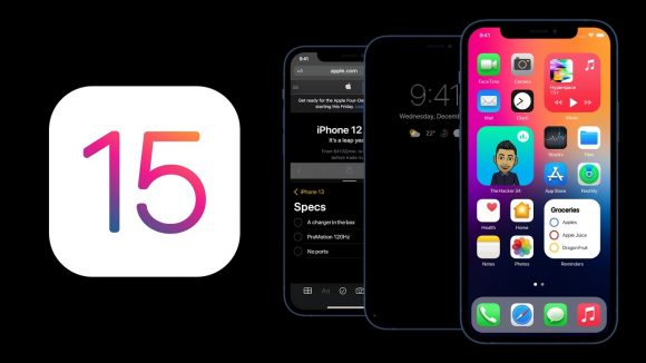 iPhone iOS15