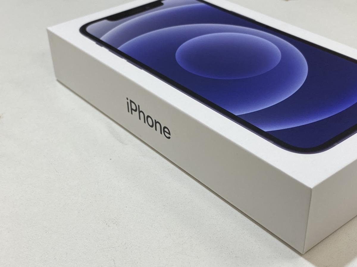 iPhone12 black 64GB au△ 中古品