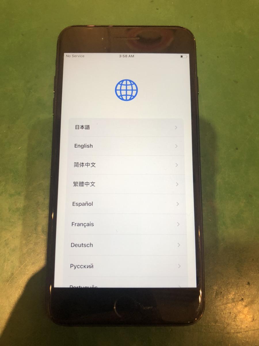 iPhone7Plus 32GB ブラック docomo ○ 中古
