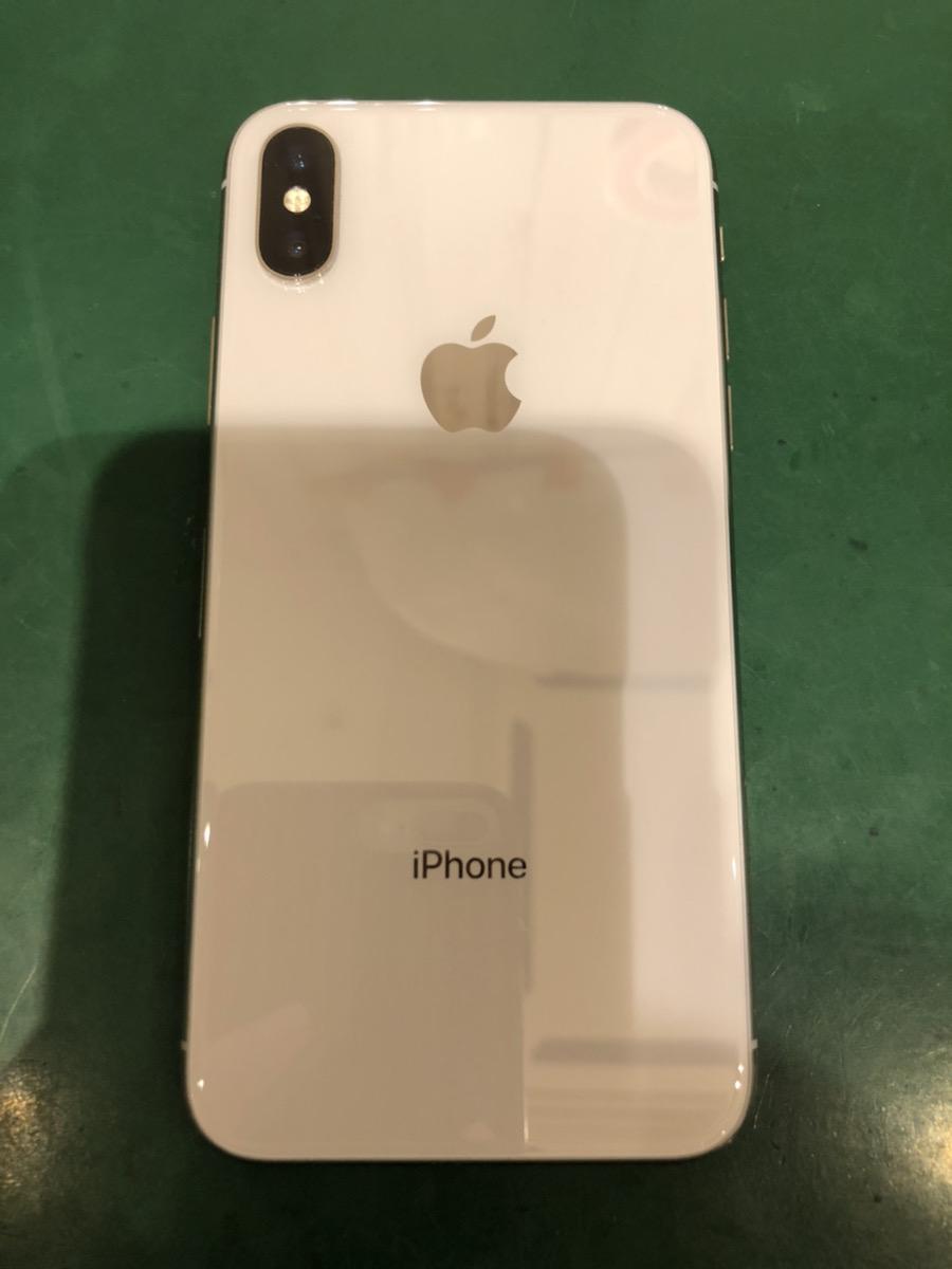 iPhoneXS 64GB シルバー au ○ 中古