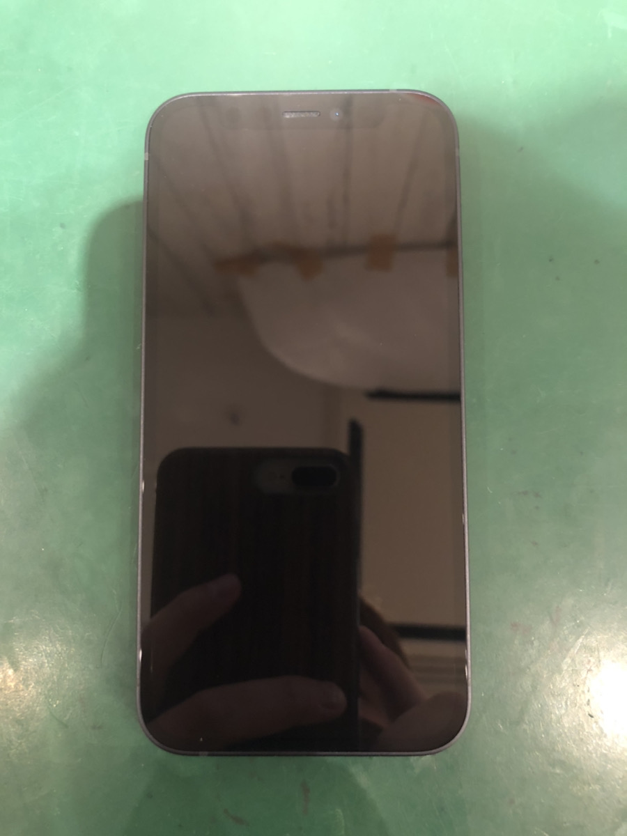 iPhone12mini 256GB ブルー au △ 中古