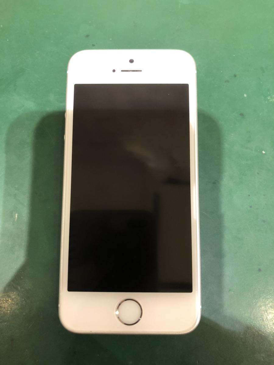 iPhoneSE 128GB シルバー SIMフリー 中古