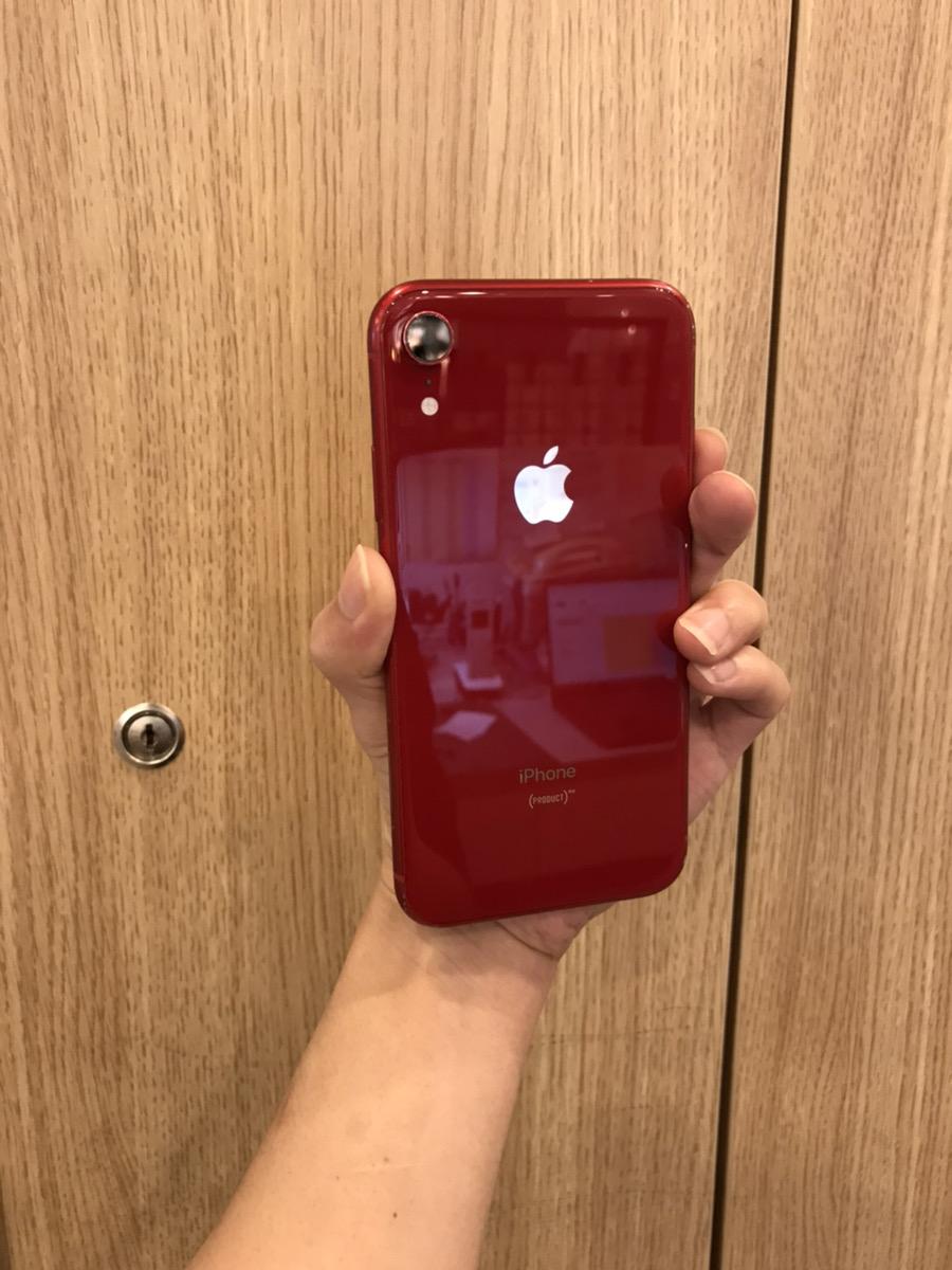 iPhoneXR 128GB レッドDocomo 〇 中古済