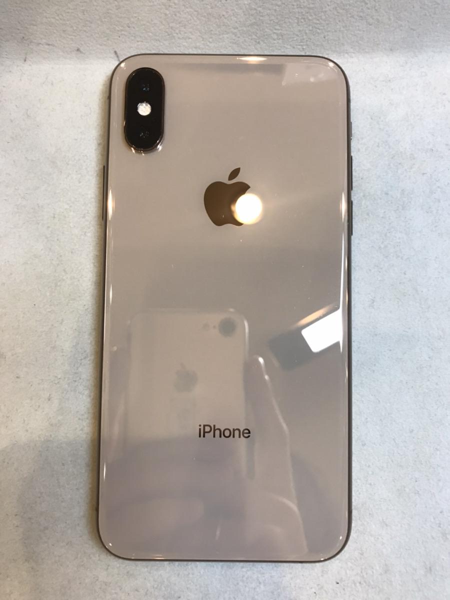 IPhoneXS ホワイト 256GB au×   中古品