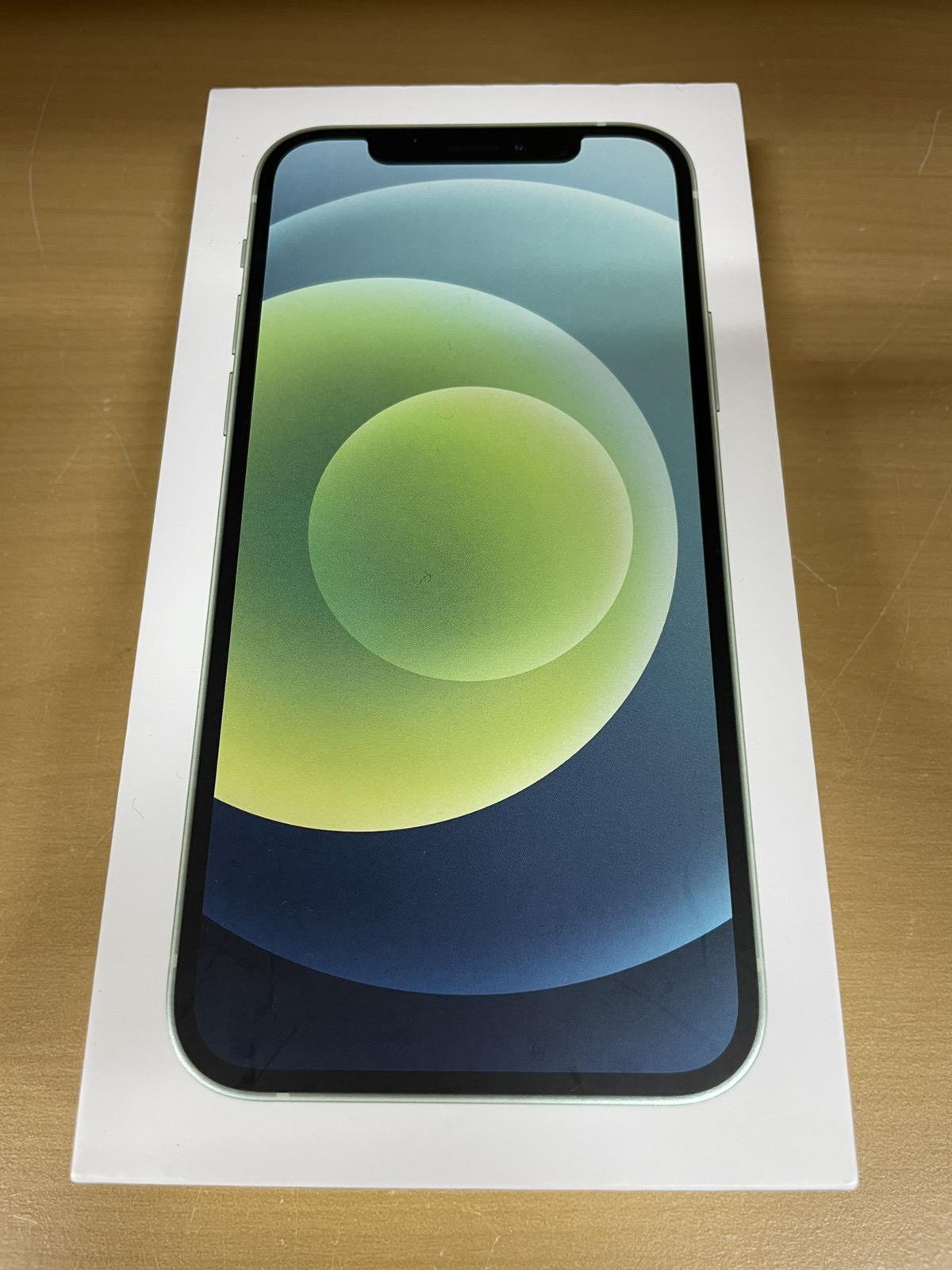 iPhone 12 128GB グリーン au△
