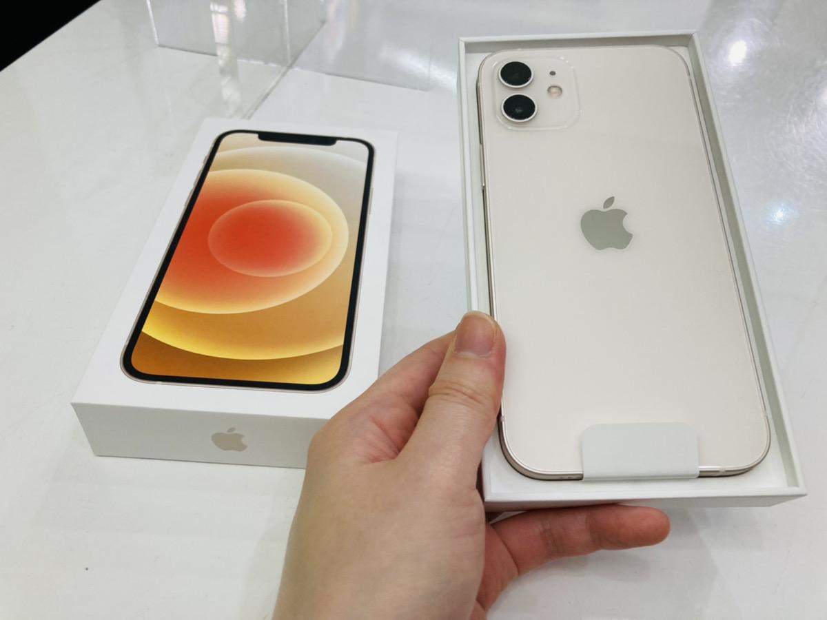 iPhone12 256GB simフリー 新品開封済み