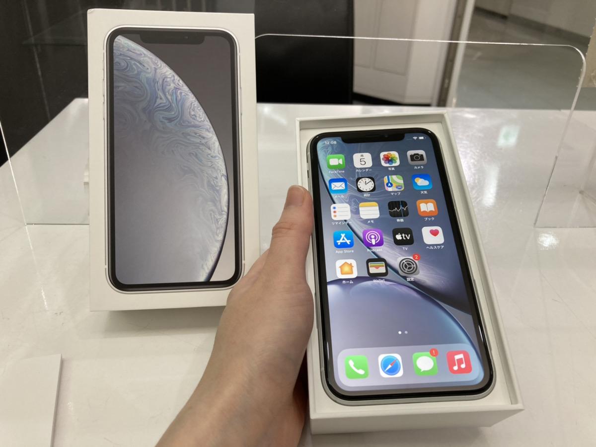 iPhoneXR 128GB SoftBank△ ホワイト 中古