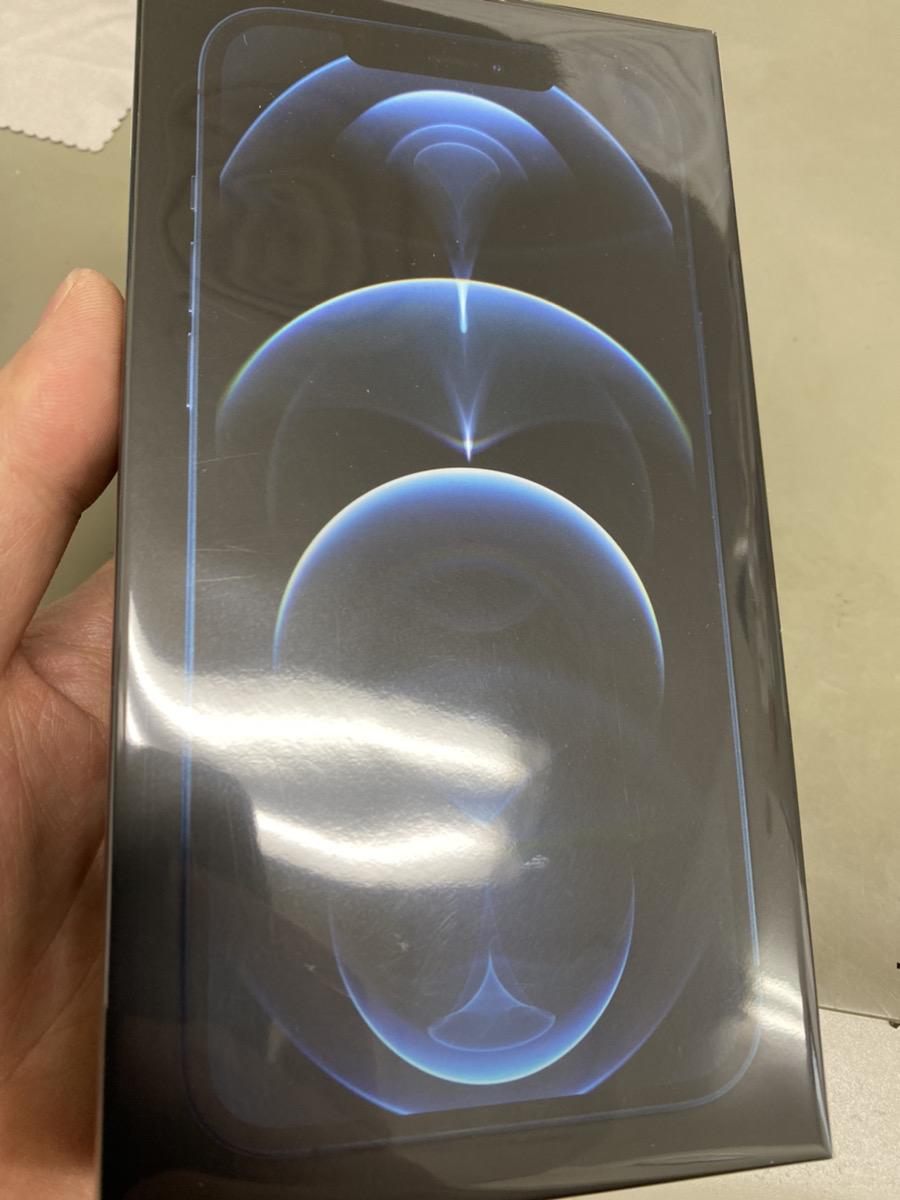 iPhone12 Pro Max 512GBパシフィックブルー  SIMフリー 新品未開封品