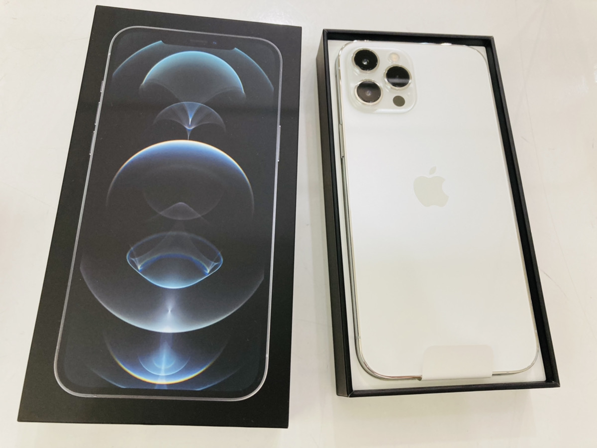 iPhone12ProMax 256GB simフリー開封済み新品