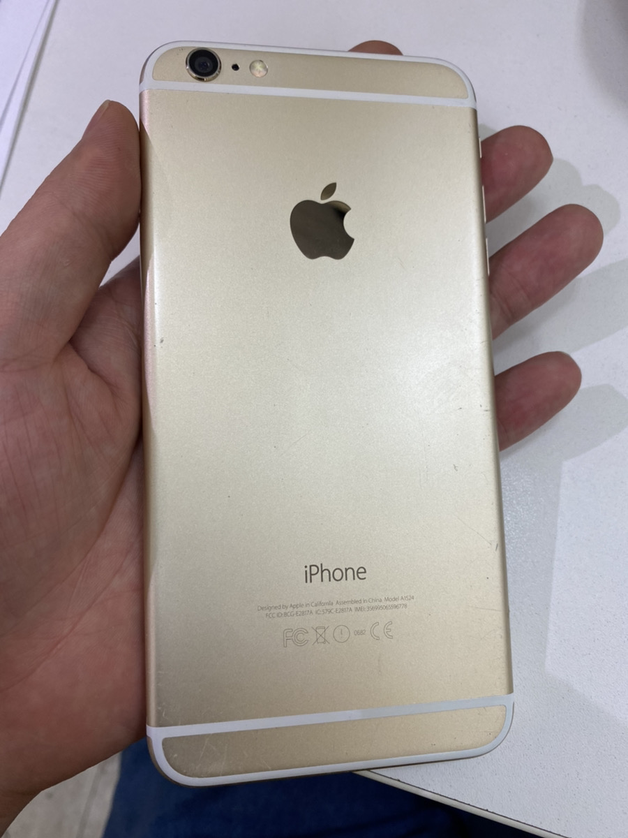 iPhone6Plus 64GB ゴールド au○ 中古