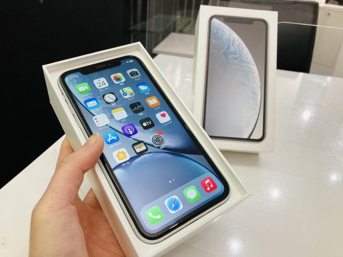iPhoneXR 128GB SoftBank△ 中古箱あり