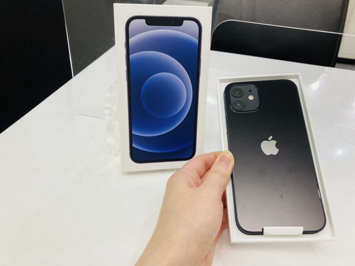 iPhone12 128GB UQmobile△ 開封済み新品