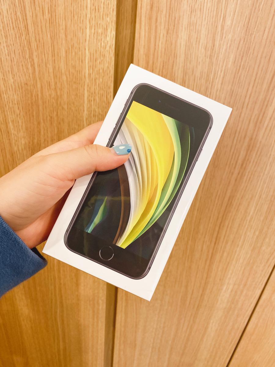 iPhoneSE2 64GB ホワイト SIMフリー 未開封