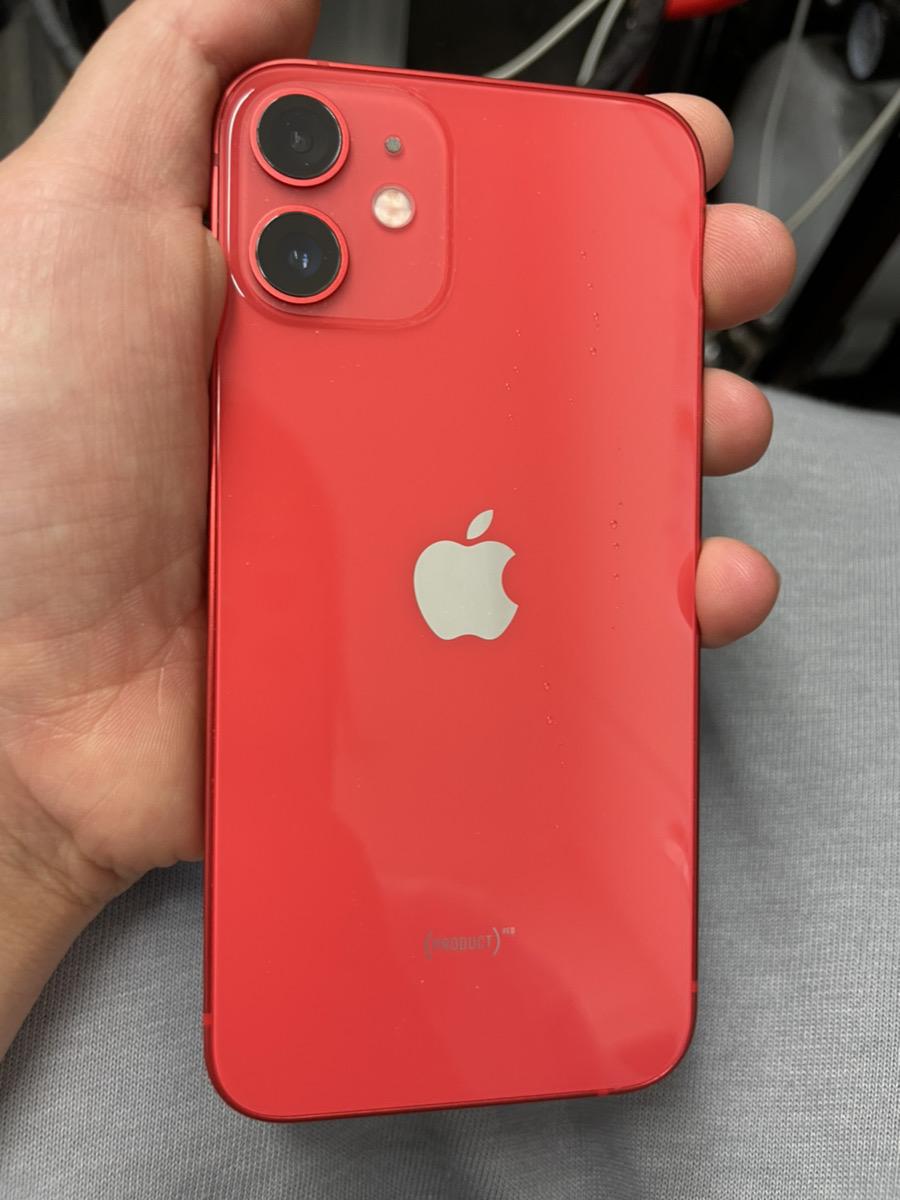IPhone12mini レッド 128GB docomo△ 中古美品