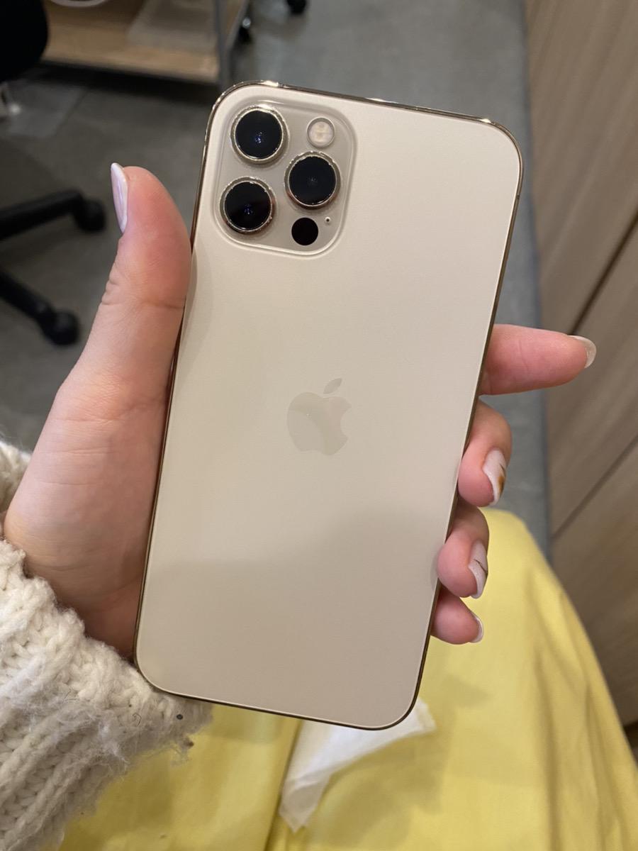 iPhone12Pro ゴールド 256GB SIMフリー 中古美品