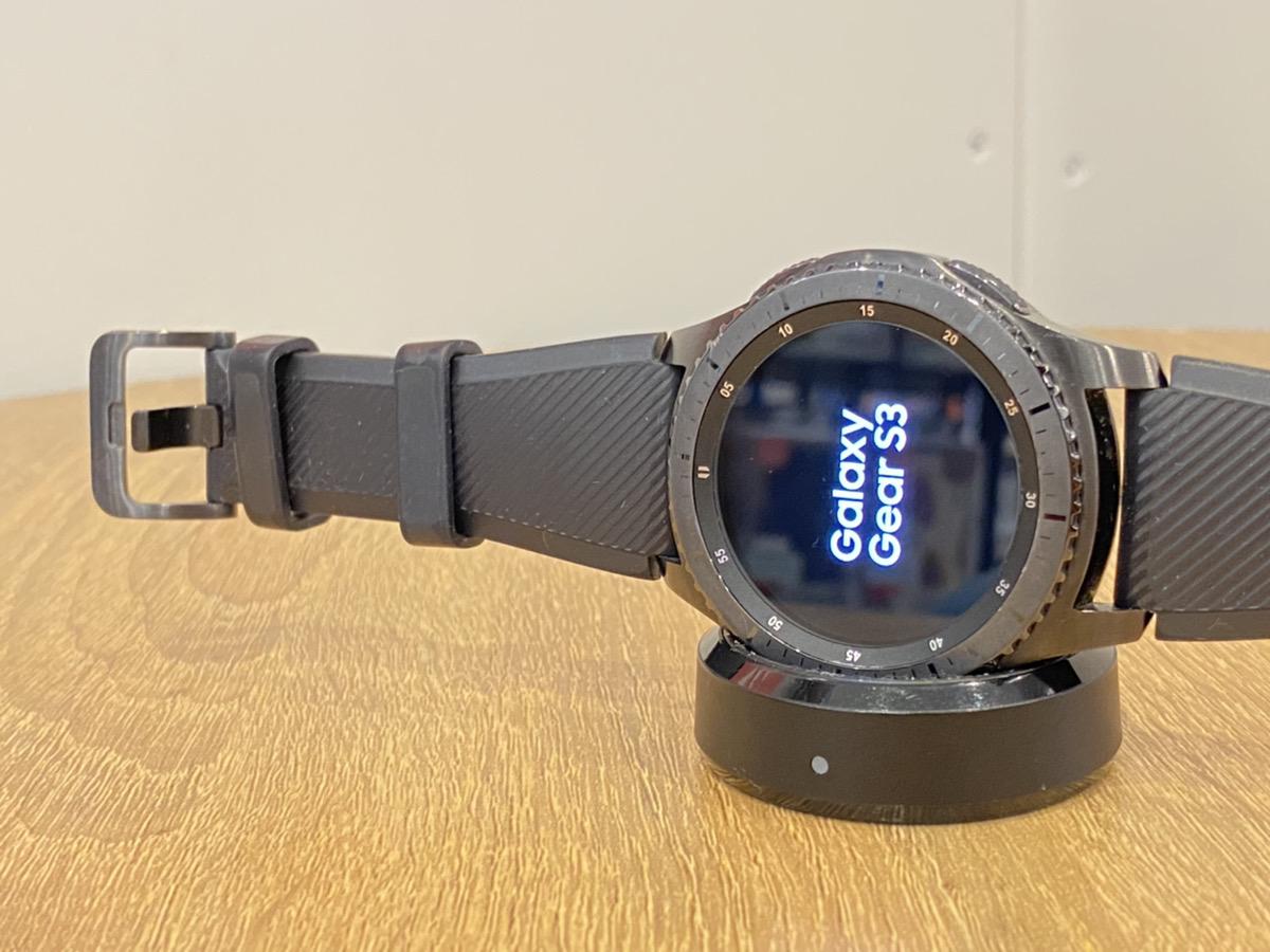 Galaxy Gear S3 SM-R760中古
