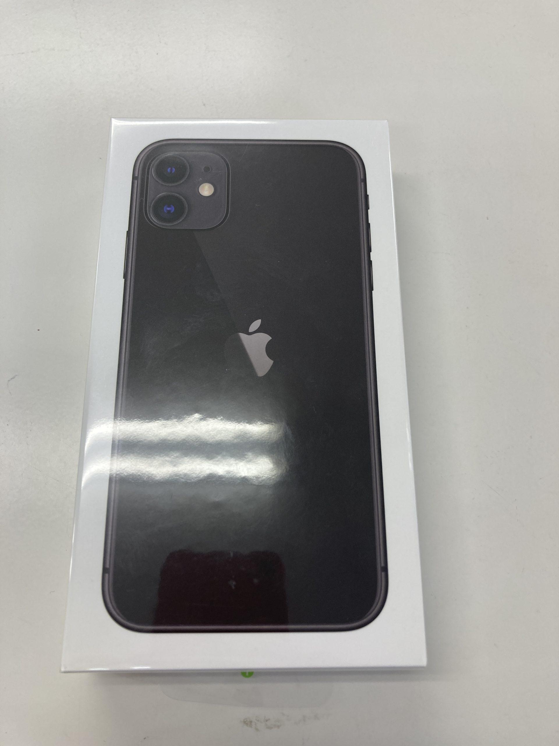 iPhone11 128GB ブラック SIMフリー 新品