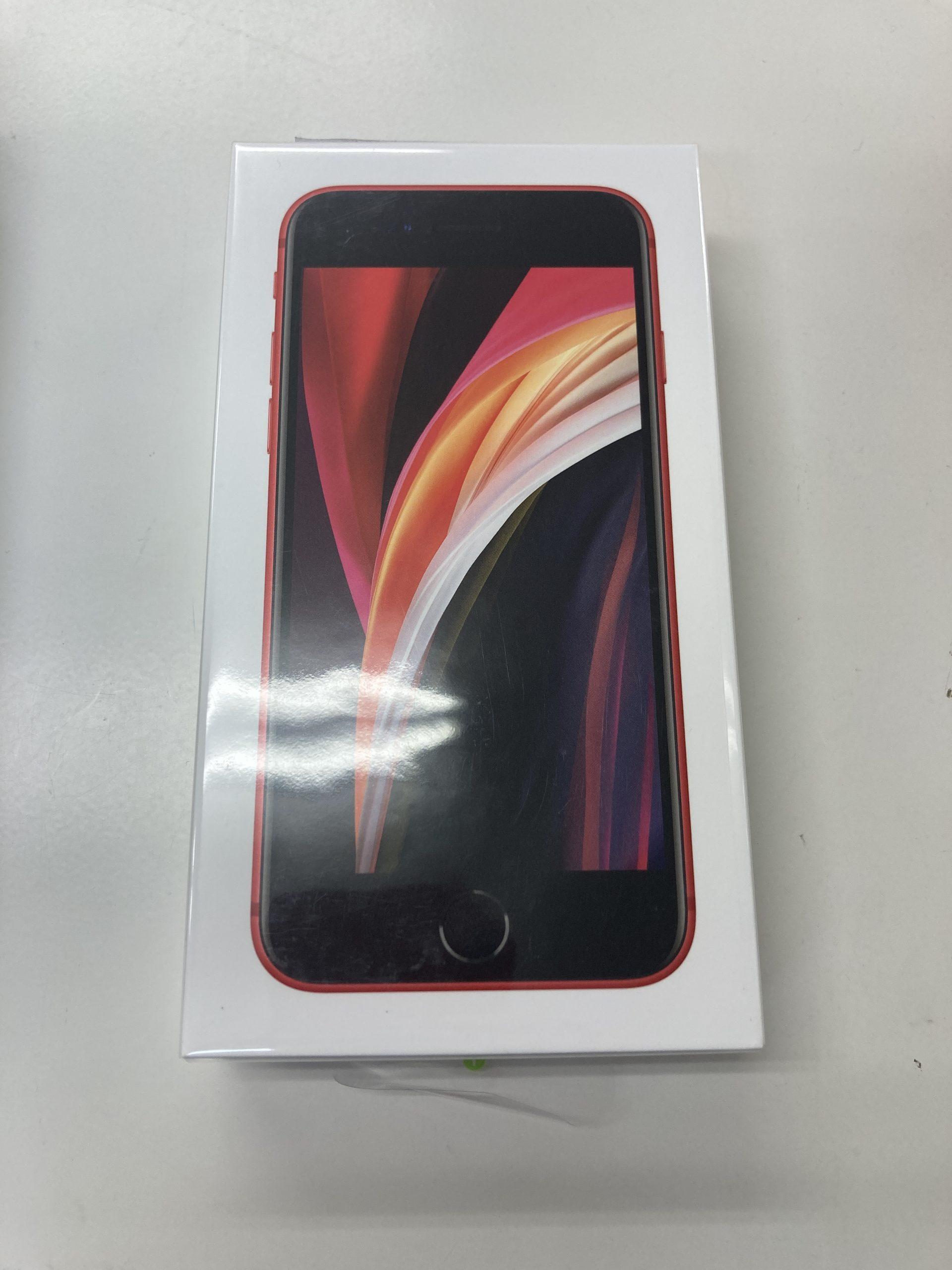 iPhoneSE第2世代 128GB レッド docomo〇 新品
