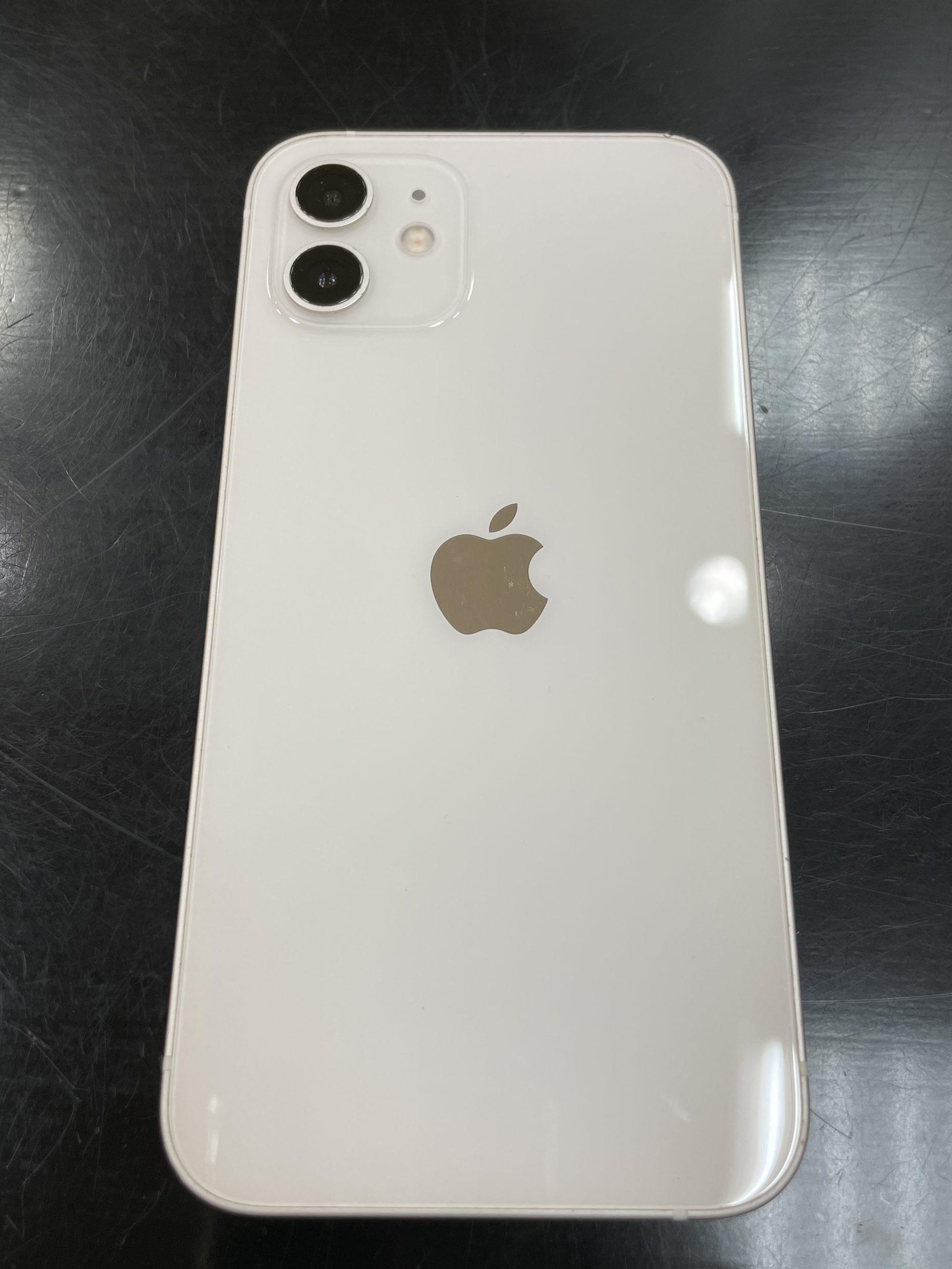 iPhone12 128GB ホワイト △ 中古
