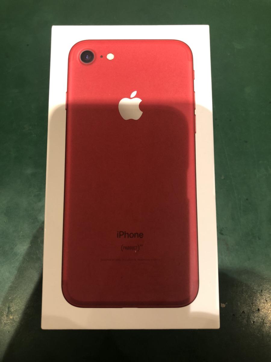 iPhone7 128GB レッド SIMフリー 中古
