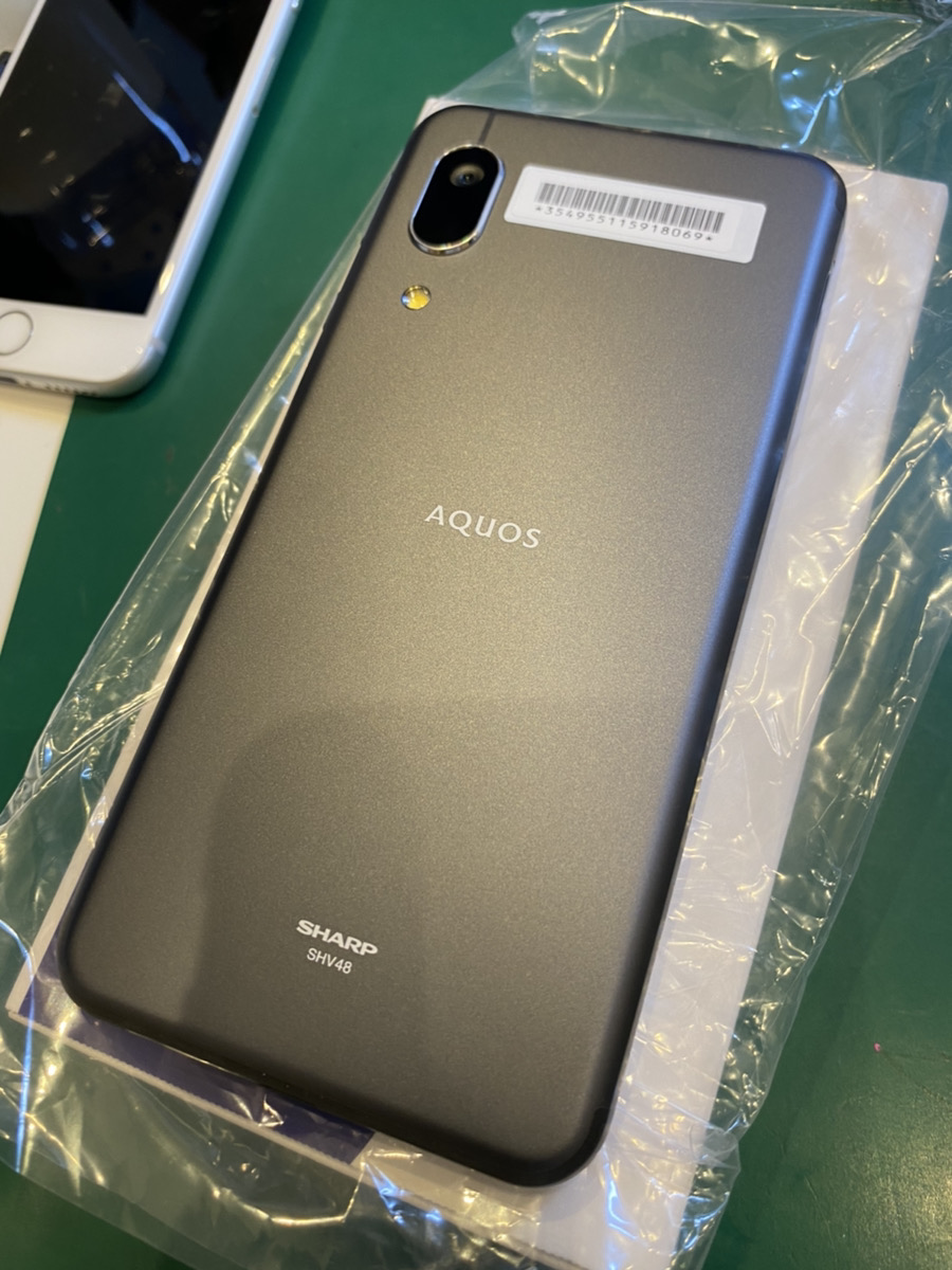 AQUOS sense3 ブラック 新品未使用品