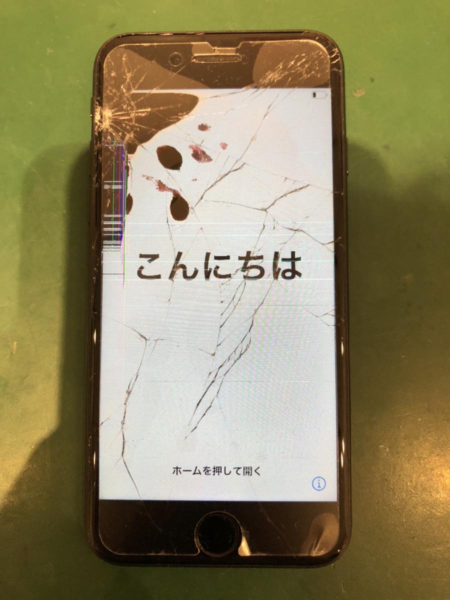 iPhone7 32GB ブラック SB ○ 中古ジャンク