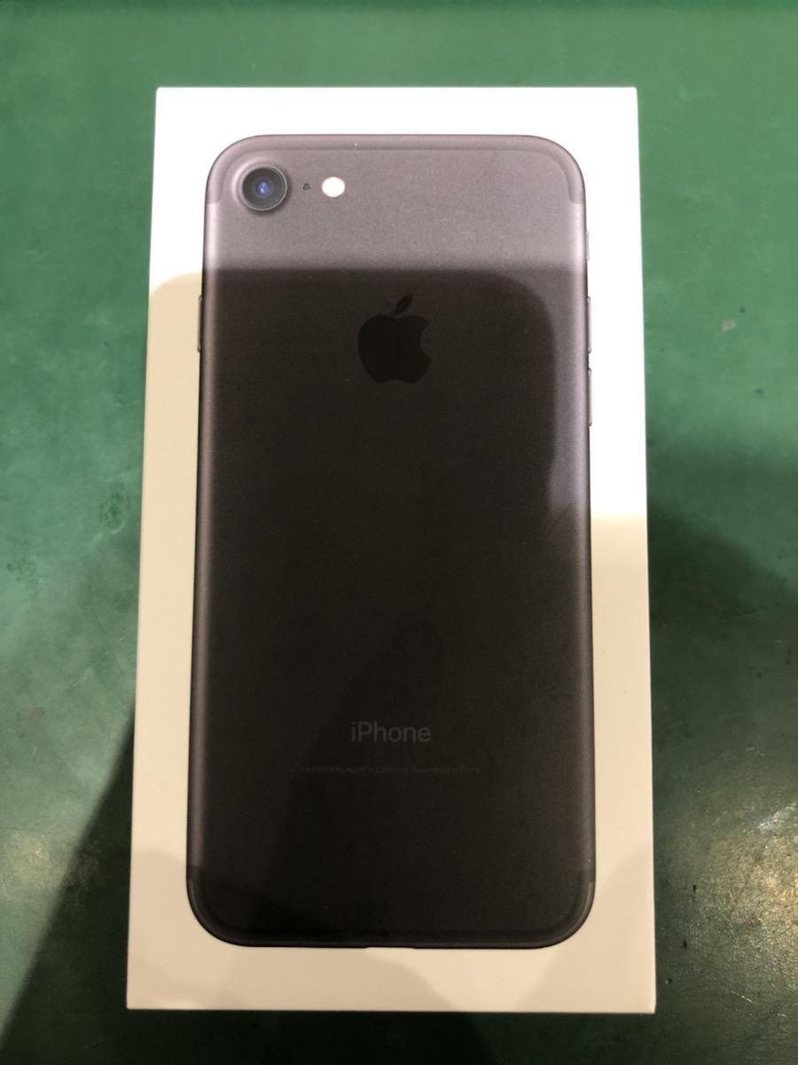 iPhone7 256GB ブラック SIMフリー 中古