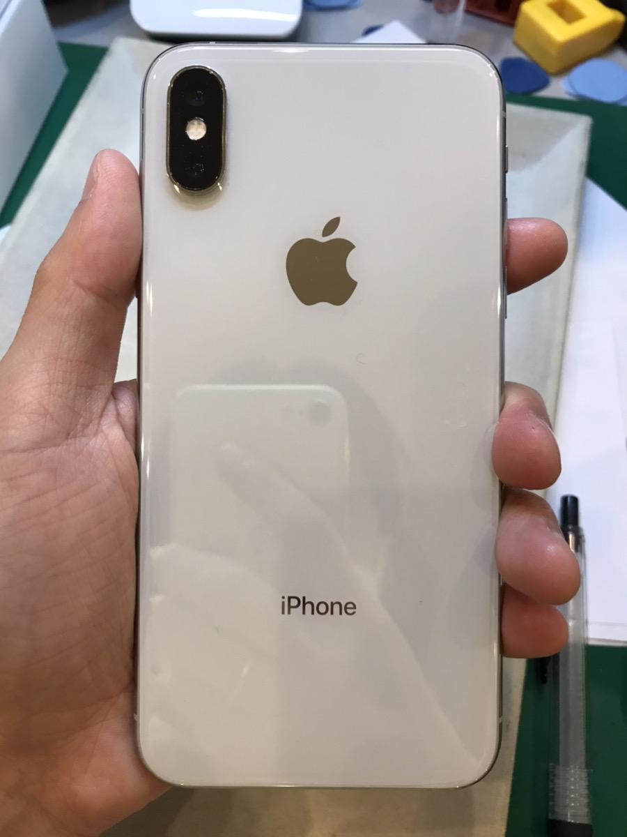iPhoneXS256GBホワイトSIMフリー中古品