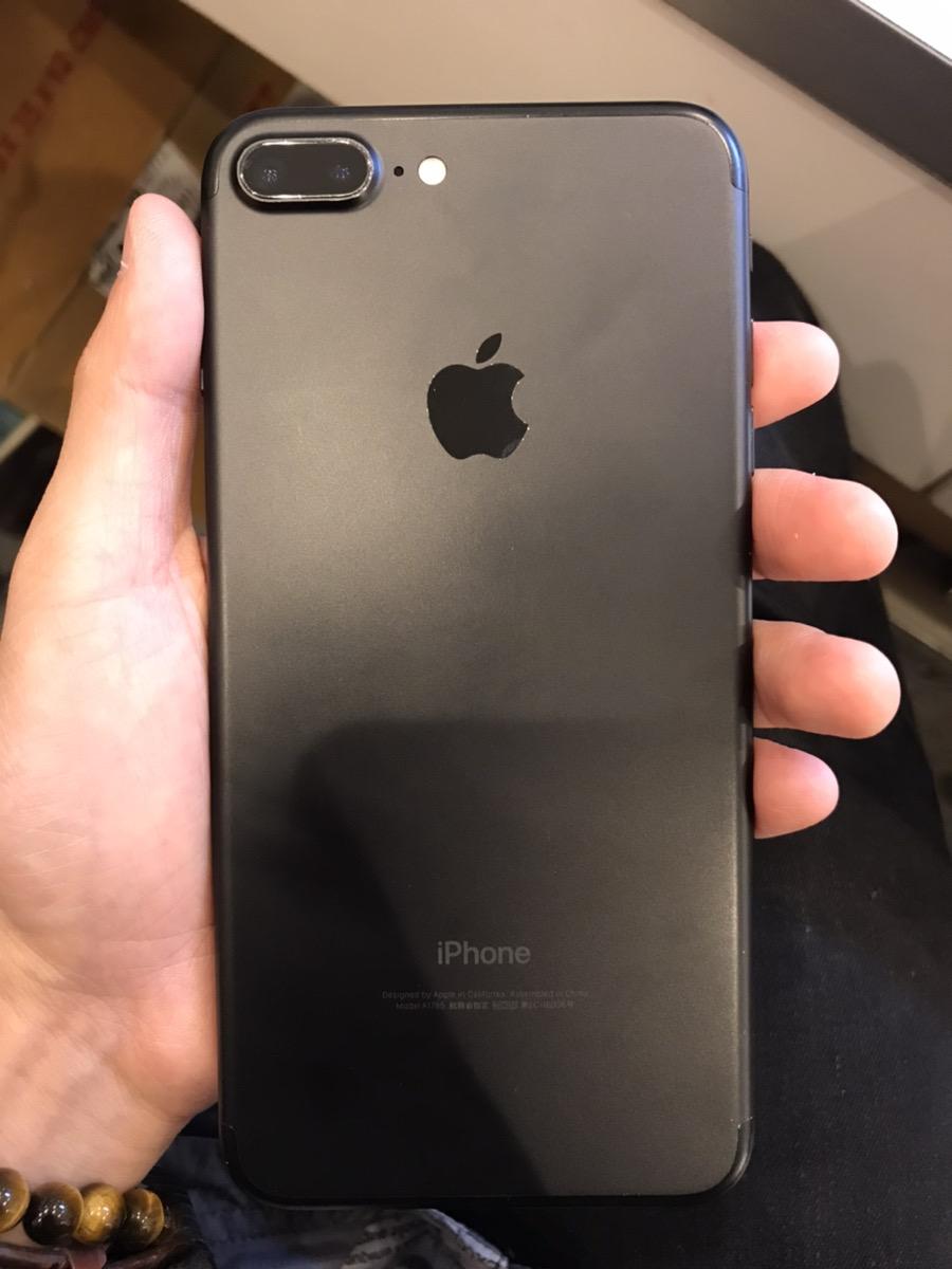 iPhone7Plus 256GB ブラック SoftBank○ マイク使用不可  一部ジャンク品