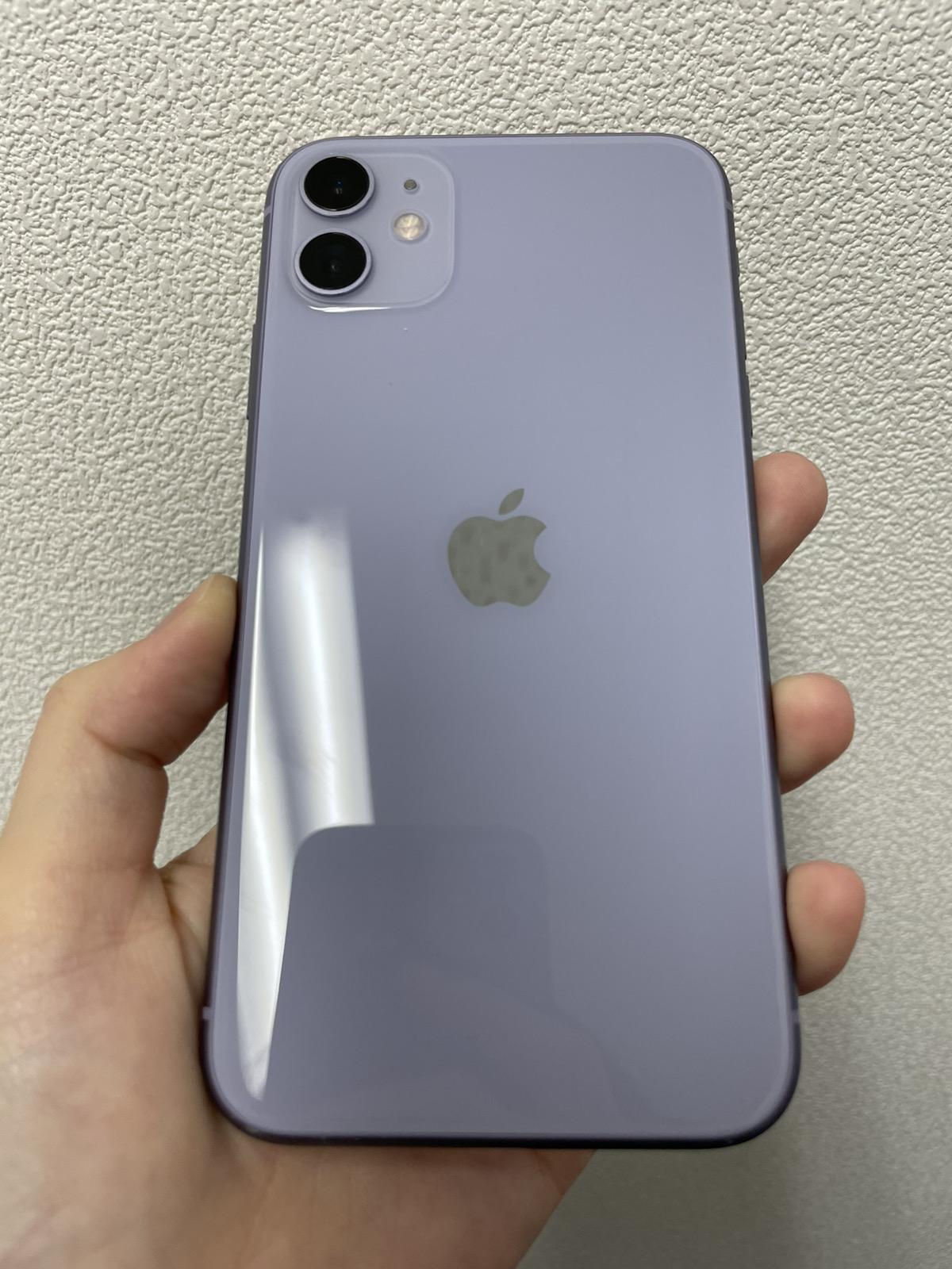 iPhone 11 64GB パープル SIMフリー 中古