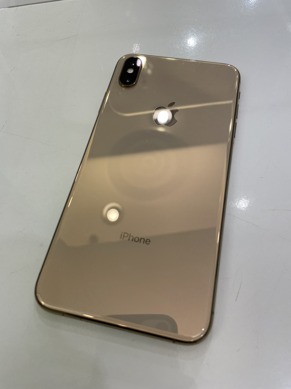 iPhone XS Max 256GB ゴールド △