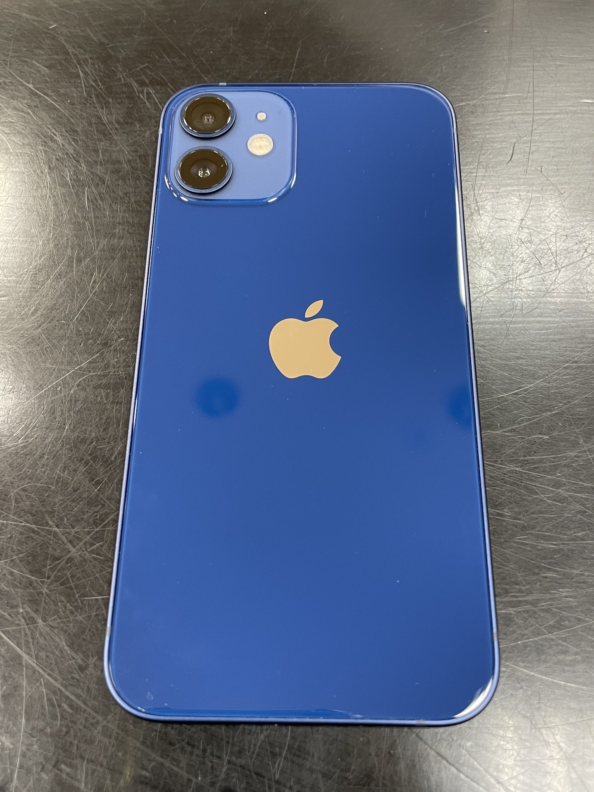 iPhone12mini 256GB ブルー Applesimフリー 中古美品