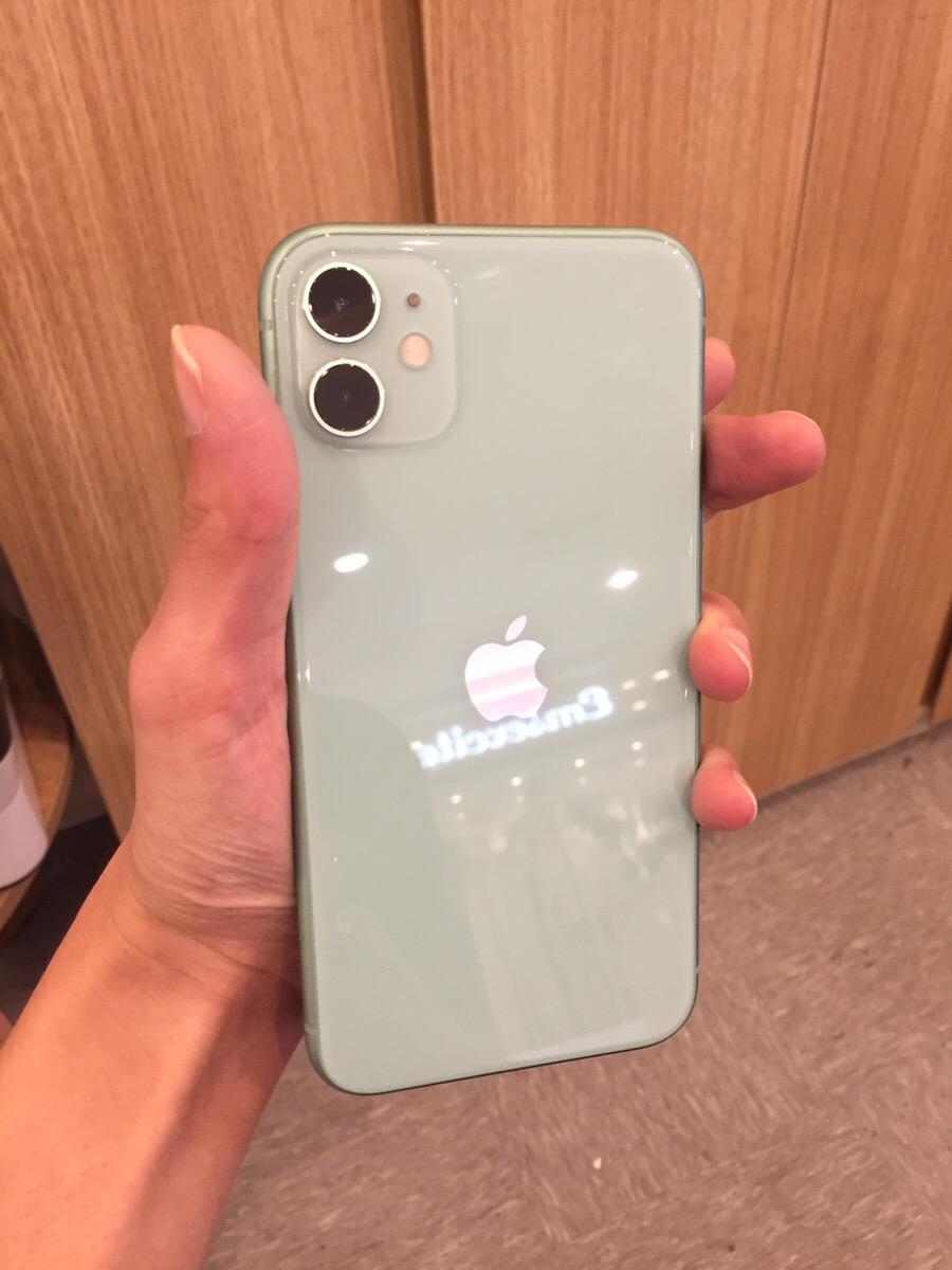 iPhone11 64GB グリーン SoftBank△ 中古