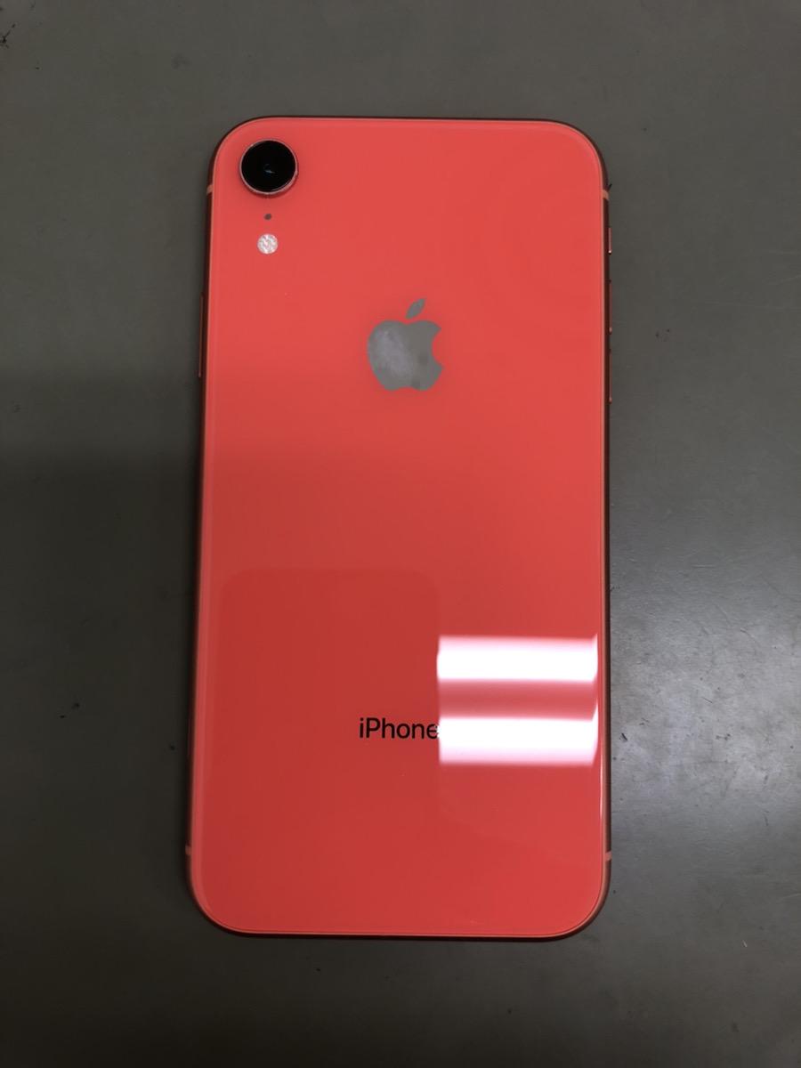 iPhoneXR 128GB レッド au △ 中古