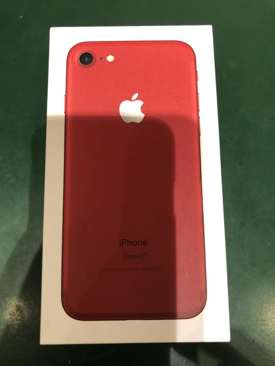 iPhone 7 128GB レッド docomo ○ 中古