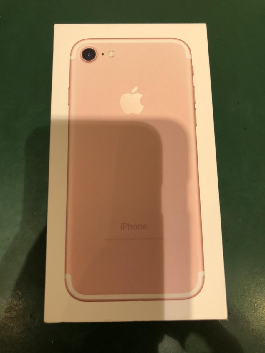 iPhone 7 256GB ローズゴールド au ○ 中古