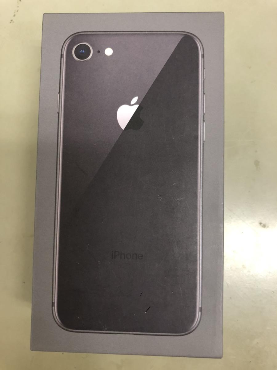 iPhone8 128GB スペースグレー au ◯ 中古