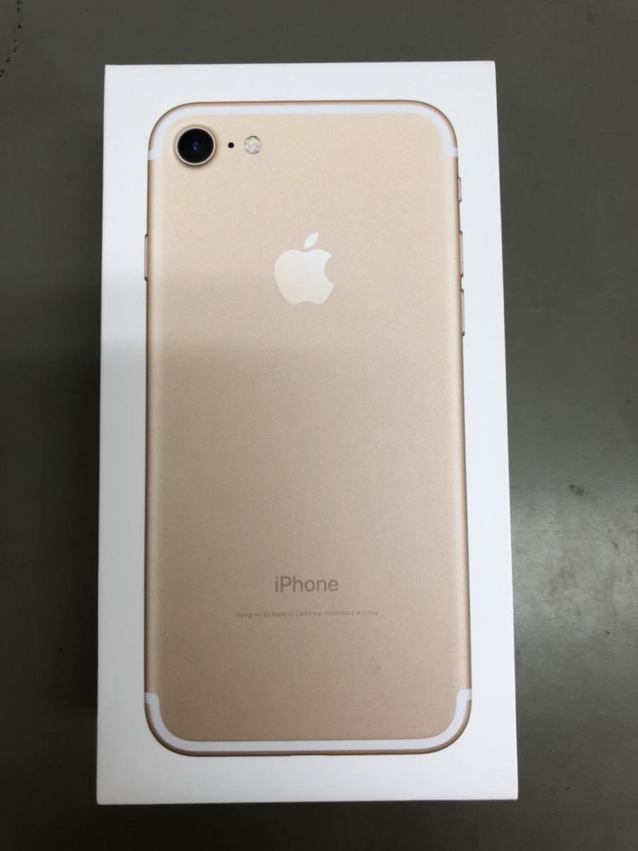 iPhone7 32GB ゴールド SoftBank ○ 中古