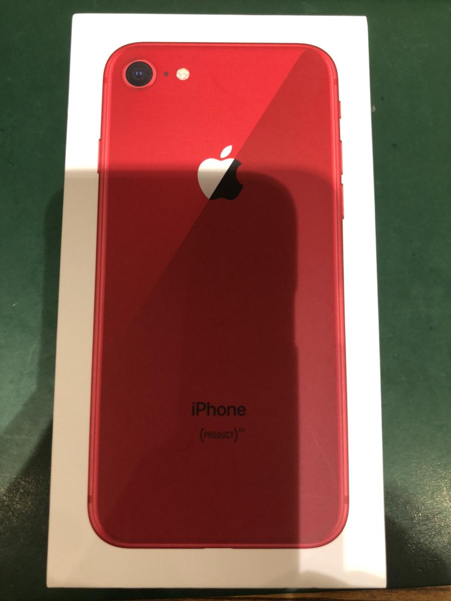 iPhone8 256GB レッド SIMフリー 中古